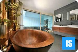 Целебные свойства деревянных ванн + видео урок