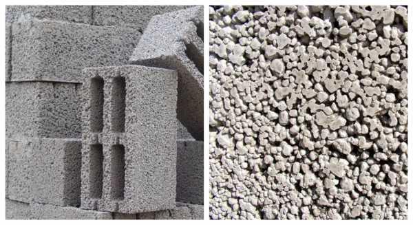 Текстура керамзитобетона бетон обнинск заказать